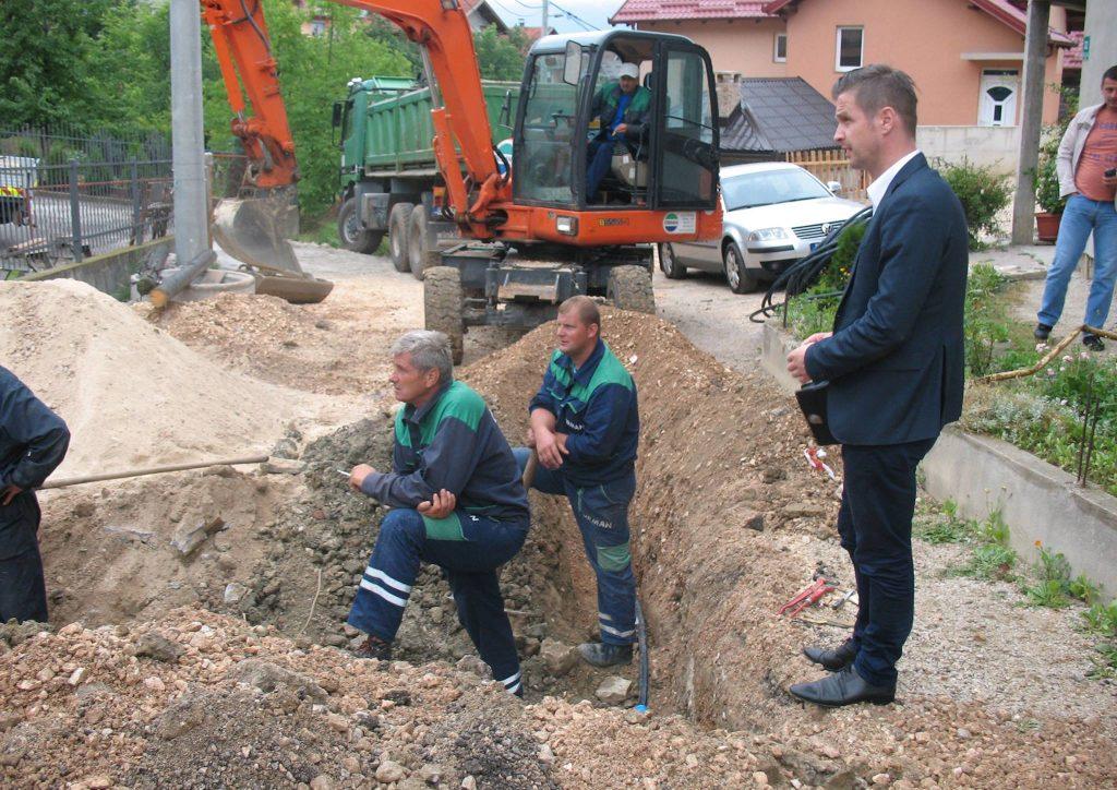 izgradnja primarnog vodovoda